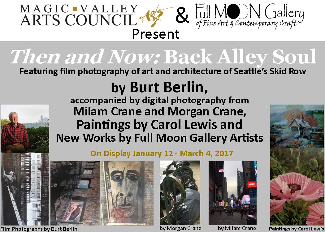MVAC hosts Artists Reception for Then and Now: Back Alley